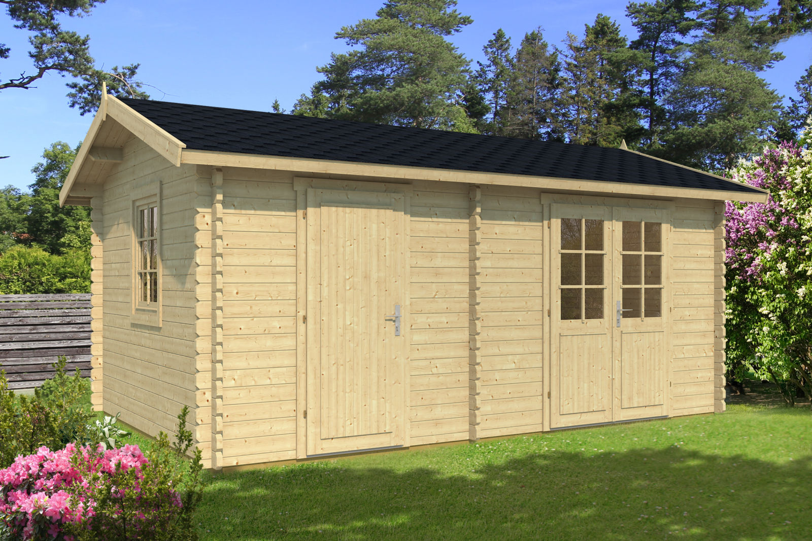 Canopies and sheds